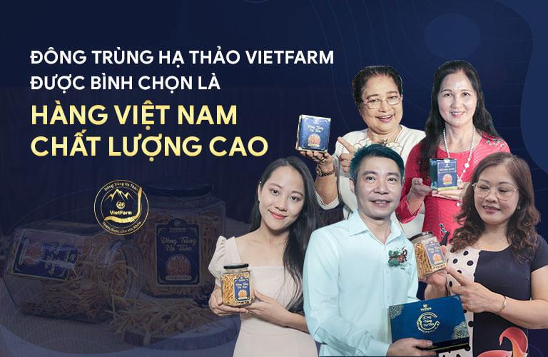 ĐTHT Vietfarm trở thành thương hiệu quen thuộc đồng hành cùng NS Phú Thăng, NS Công Lý, NS Kim Xuyến,...