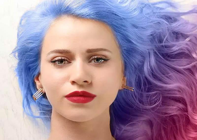 Các hoạt động nhuộm uốn, tạo kiểu tóc... có thể làm tổn thương da đầu và nang tóc