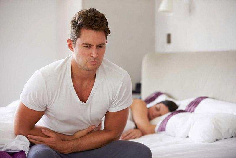 Bệnh ảnh hưởng đến đời sống tình dục của bệnh nhân