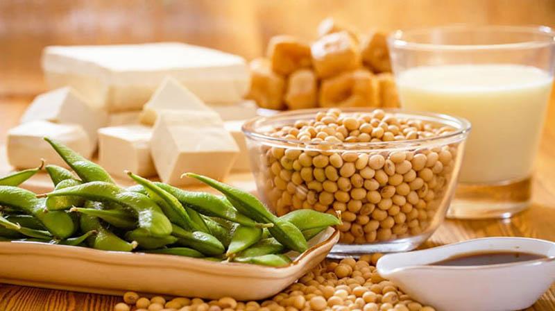 Bổ sung đậu nành và các chế phẩm từ dậu nành trong thực đơn hàng ngày