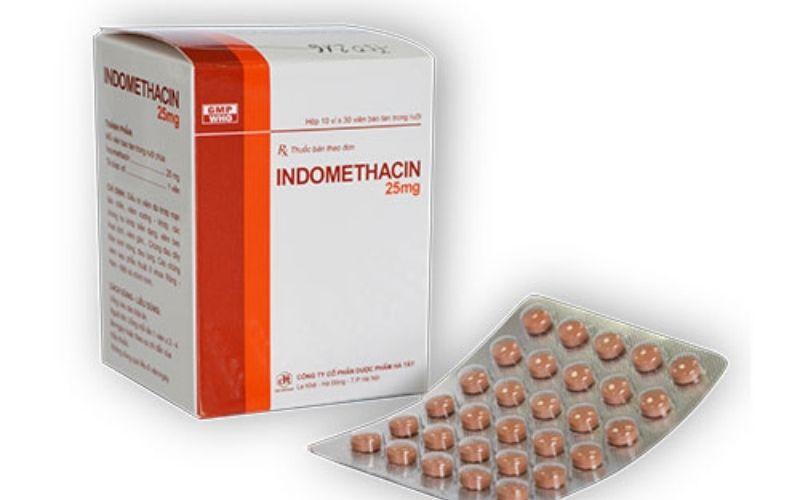 Thuốc giảm đau kháng viêm chữa thoái hóa đốt sống cổ Indomethacin