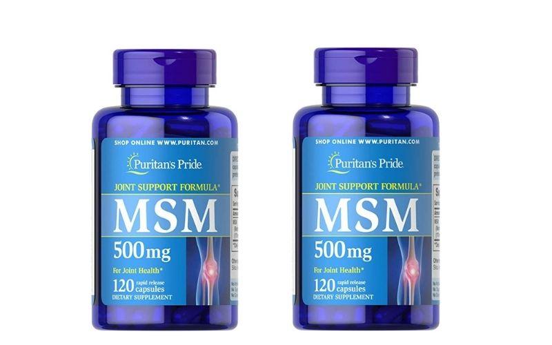Thuốc chữa thoái hóa đốt sống cổ Puritan's Pride MSM