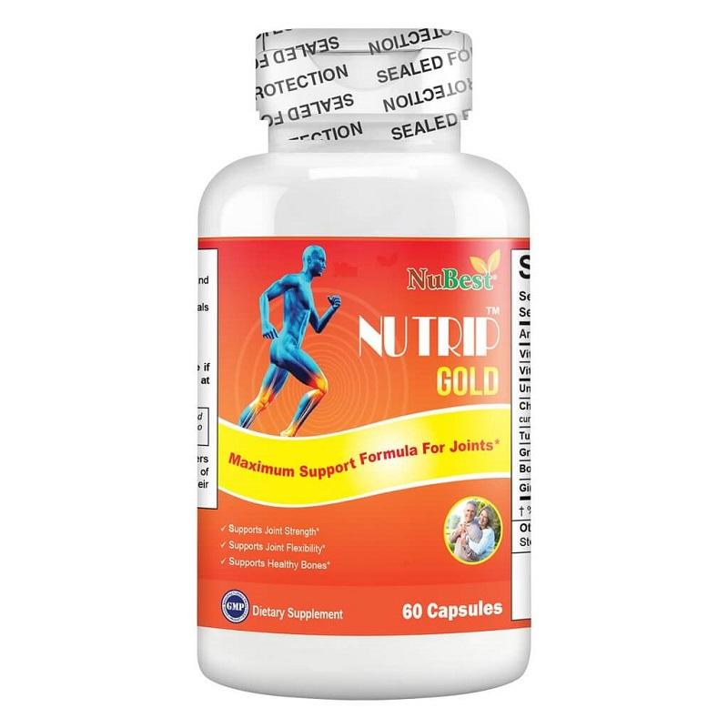 Thực phẩm bảo vệ sức khỏe hỗ trợ điều trị xương khớp Nu - Trip Gold
