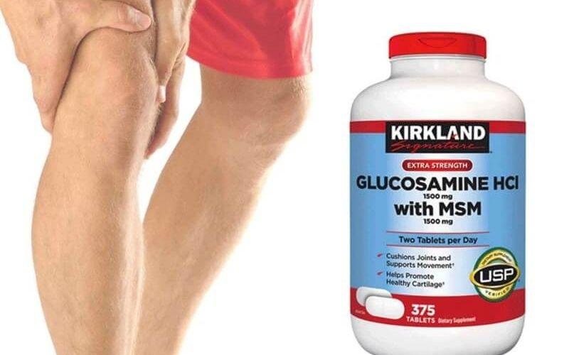 Glucosamine HCL là thực phẩm chức năng hỗ trợ điều trị xương khớp được ưa chuộng tại Mỹ