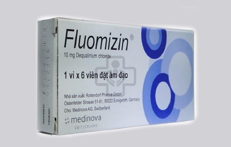 Viên đặt âm đạo tốt nhất hiện nay - Fluomizin