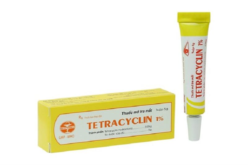 Thuốc kháng sinh trị viêm âm đạo Tetracyclin