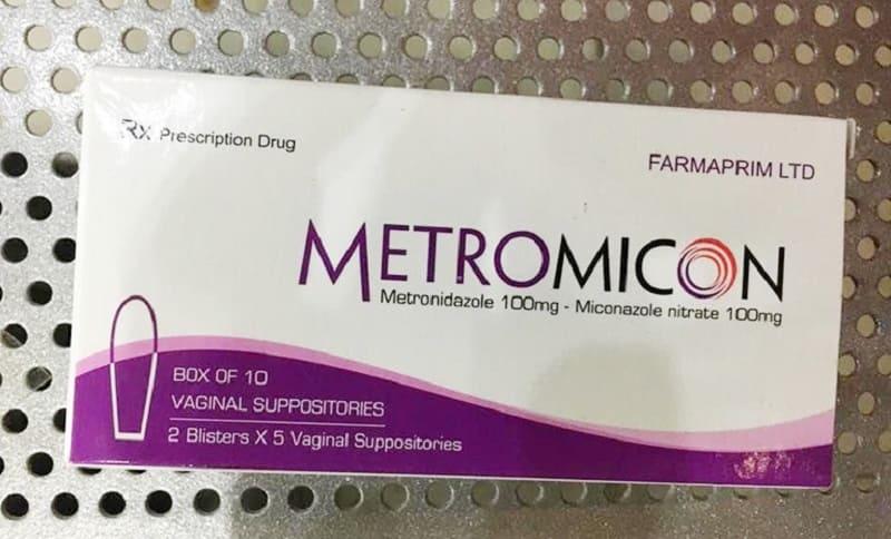 Viên đặt chữa viêm phụ khoa Metromicon