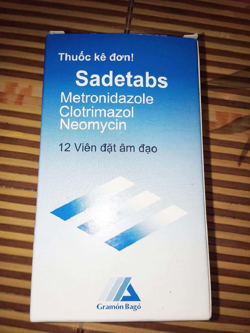 Thuốc đặt âm đạo Sadetabs