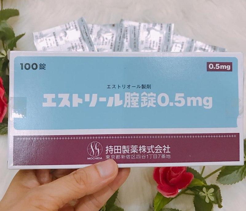 Thuốc chữa viêm lộ tuyến cổ tử cung của Nhật Estoril