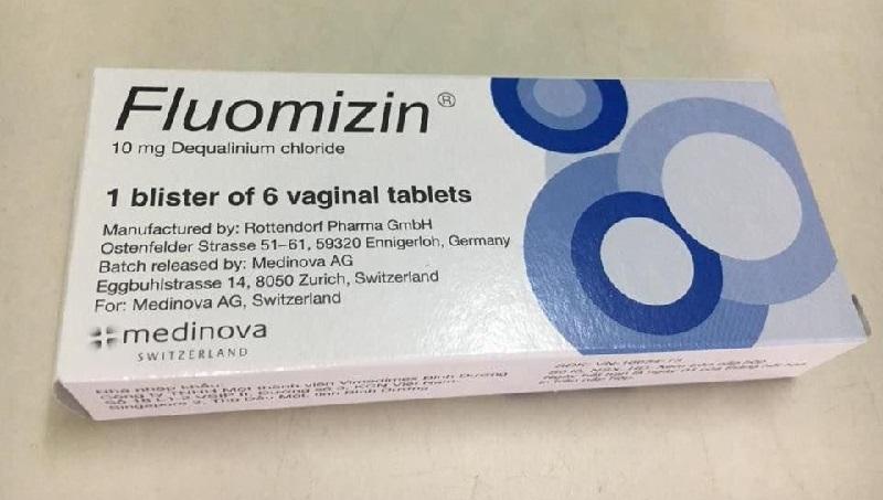 Thuốc viên dạng đặt Fluomizin