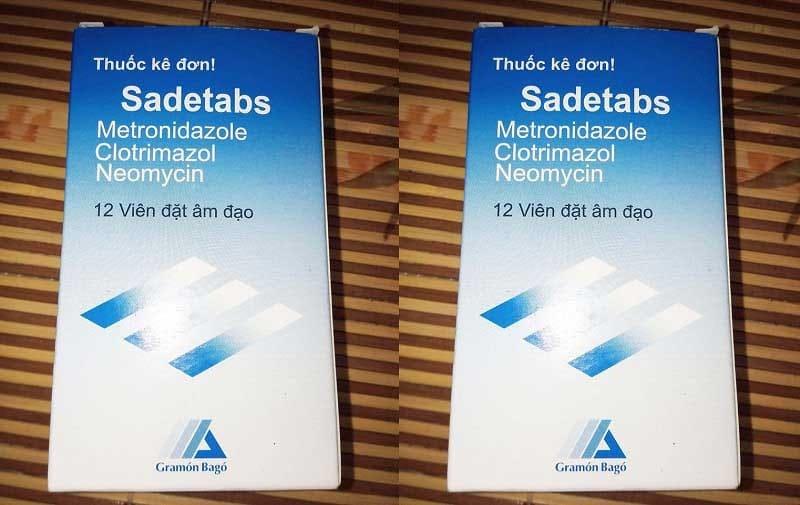 Viên chữa bệnh viêm nhiễm phụ nữ Sadetabs