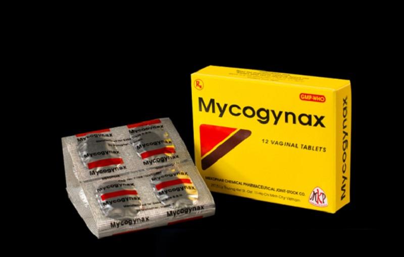 Thuốc đặt chữa bệnh phụ khoa Mycogynax
