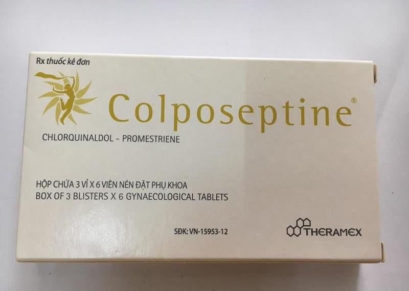 Sản phẩm Colposeptine được nghiên cứu và sản xuất từ Pháp