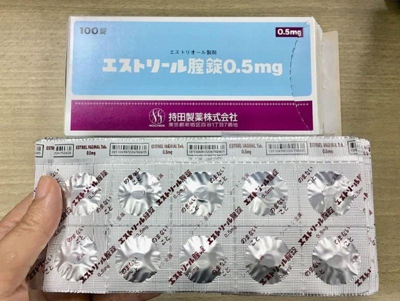 Sản phẩm Estoril là thuốc đặt viêm lộ tuyến đến từ Nhật Bản