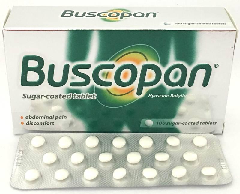 Thuốc sỏi thận Buscopan 10mg