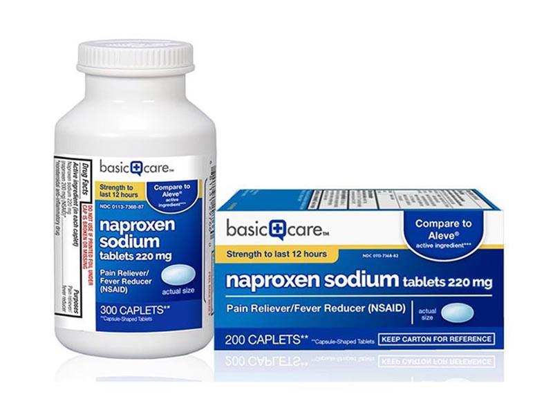 Điều trị thoái hóa cột sống với Naproxen