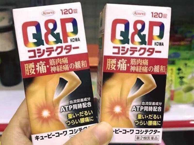 Thuốc thoát vị đĩa đệm Nhật Bản Q&P Kowa chứa các dưỡng chất cần thiết giúp tái tạo sụn khớp