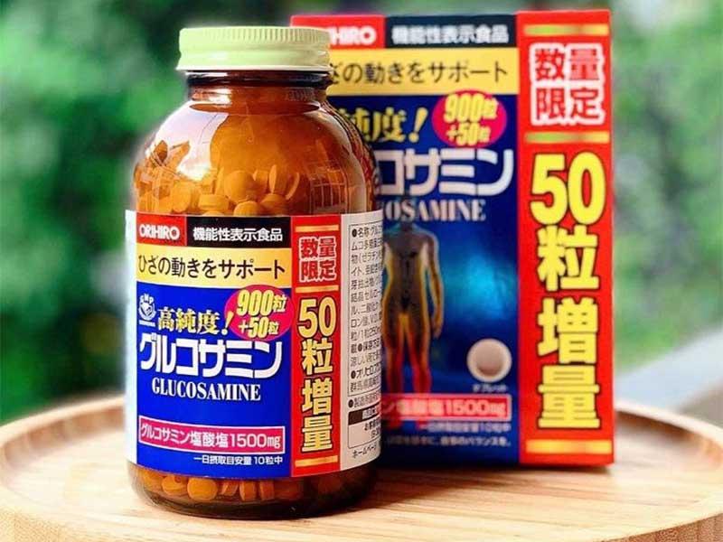 Glucosamine Orihiro có tác dụng tăng cường khả năng tái tạo mô sụn, hỗ trợ điều trị bệnh thoát vị đĩa đệm