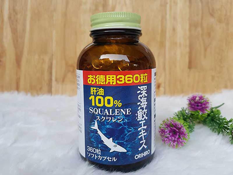Squalene Orihiro là thực phẩm chức năng được Bộ Y tế Nhật Bản cấp phép lưu hành
