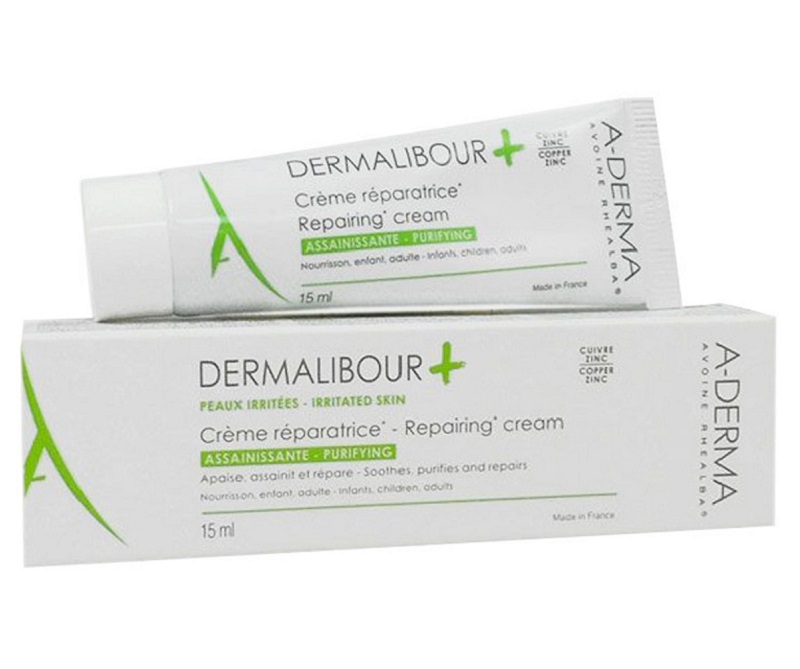 Thuốc trị ngứa da mặt A-Derma Dermalibour Repairing