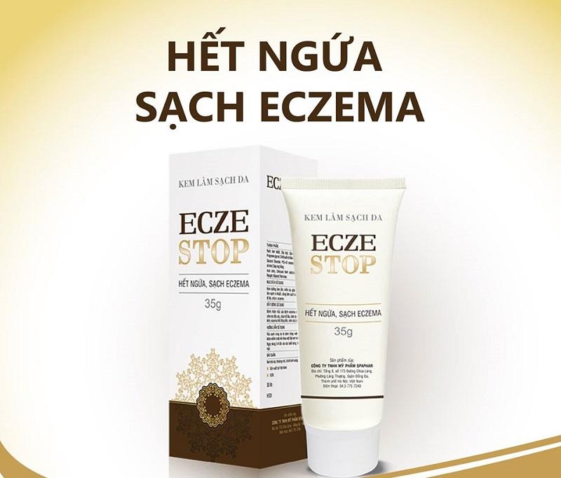 Thuốc trị ngứa da mặt Eczestop