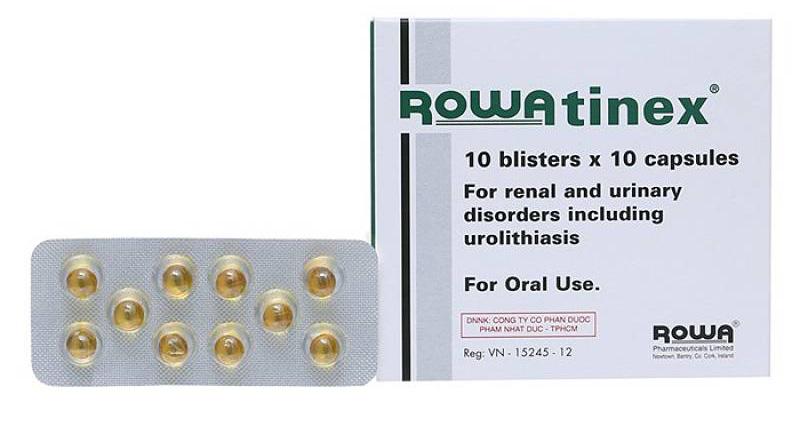 Thuốc sỏi thận Rowatinex