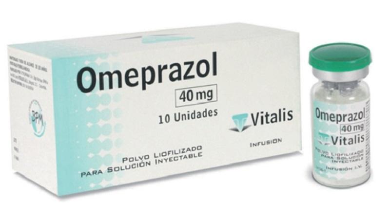 Thuốc Omeprazol dạng tiêm chữa xuất huyết dạ dày