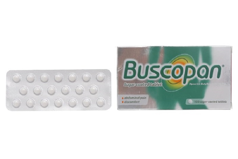 Thuốc Buscopan dùng trong điều trị về tiêu hóa