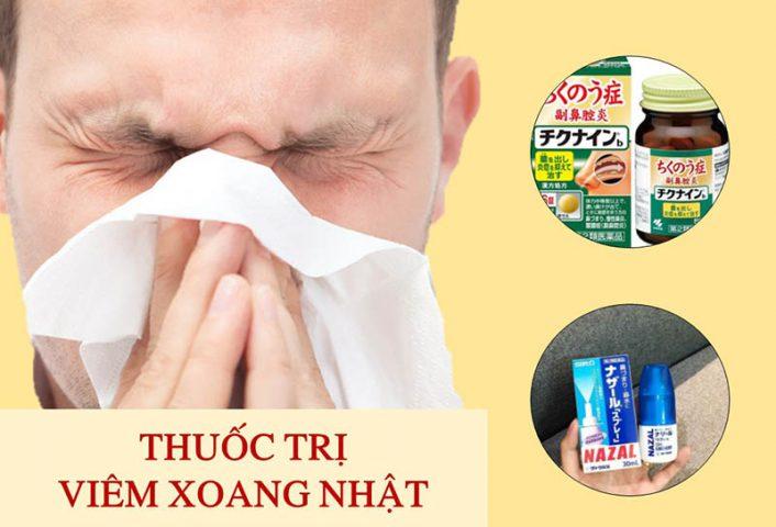 TOP 8 thuốc viêm xoang Nhật tốt nhất hiện nay và lưu ý khi dùng