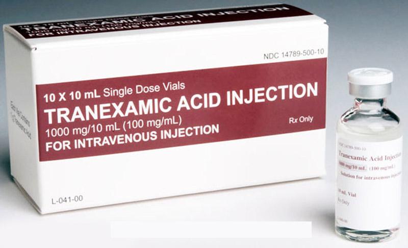 Câu trả lời cho tiểu ra máu uống thuốc gì là thuốc tranexamic acid
