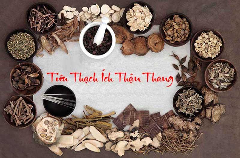 Bài thuốc Tiêu thạch Ích thận thang bao gồm các thảo dược quý