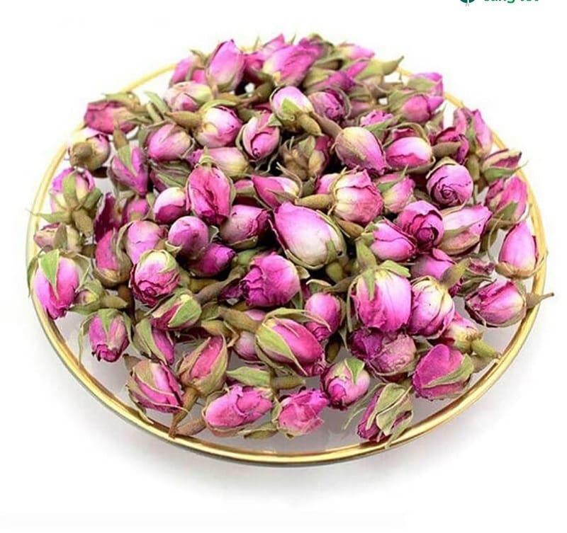 Trà thảo dược từ hoa hồng mang lại nhiều tác dụng