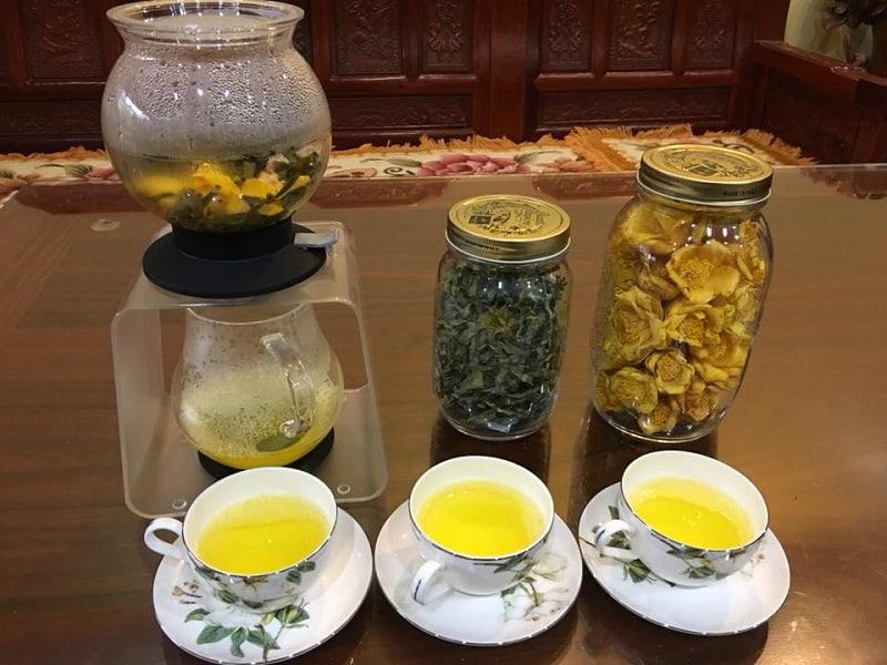 Pha trà để uống là cách hay được dùng nhất