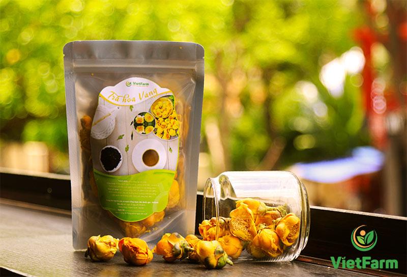 Trà hoa vàng Vietfarm đạt chuẩn Organic thượng hạng
