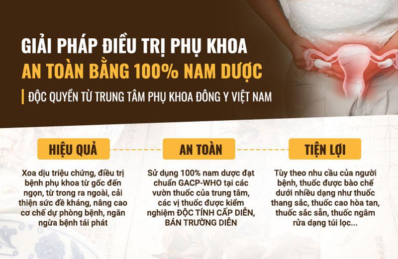 Phụ Khang Tán đặc trị viêm lộ tuyến