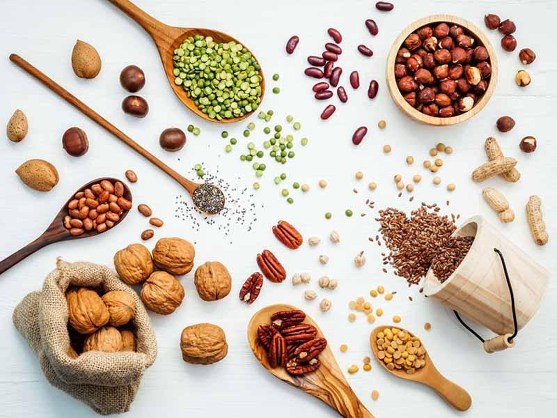 Ngũ cốc chứa nhiều kẽm tốt cho tuyến tiền liệt