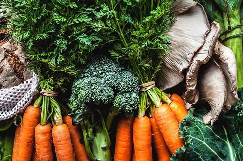 Viêm tuyến tiền liệt nên ăn nhiều rau xanh