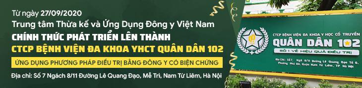 Khai Trương Bệnh viện Quân Dân 102