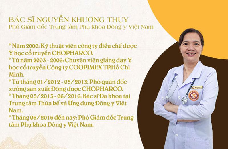 Bác sĩ Thụy có nhiều đóng góp cho nền YHCT của nước nhà