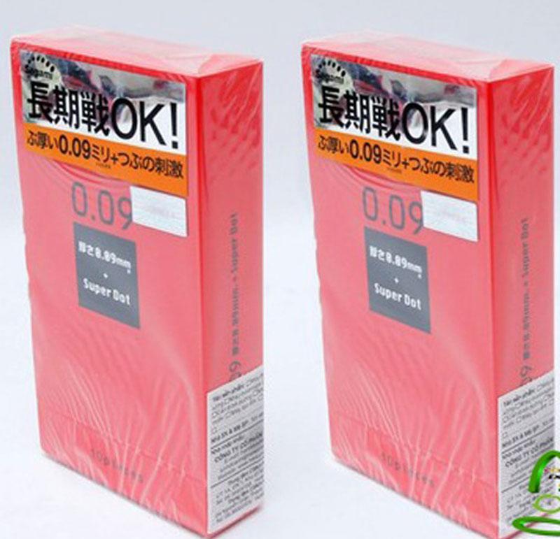 Bao cao su chống xuất tinh sớm Super Dot 009 Nhật Bản