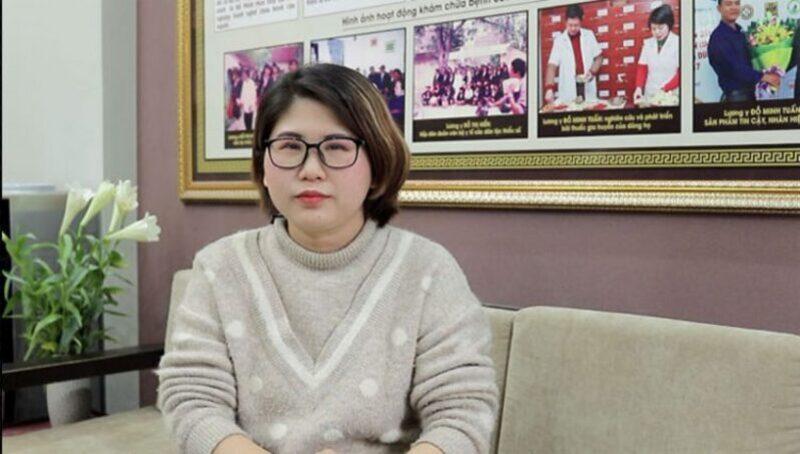 Chị Thanh tin tưởng điều trị bệnh viêm lộ tuyến độ 3 tại nhà thuốc Đỗ Minh Đường