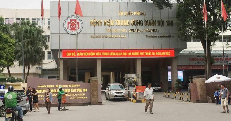 Bệnh viện TW quân đội 108 là một trong những bệnh viện uy tín tại miền Bắc
