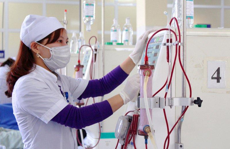 Quá trình lọc máu thay thế chức năng thận là một quá trình gian nan đối với cả bệnh nhân và người thân