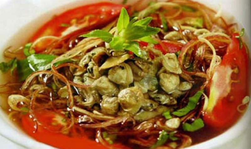 Chữa đau dạ dày bằng hoa chuối nấu hến là lựa chọn của nhiều người trong những ngày lạnh