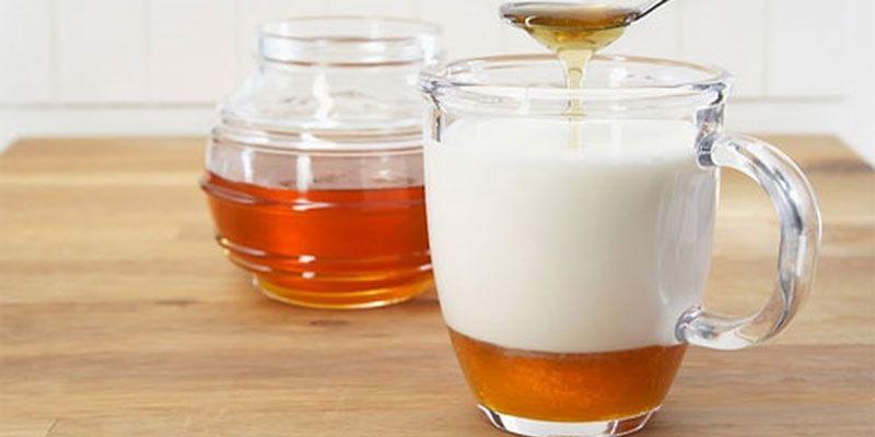 Mật ong hòa cùng sữa tươi tạo hỗn hợp chữa xuất tinh sớm