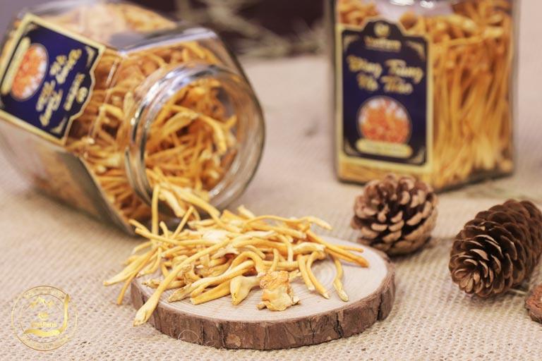 Sản phẩm Đông trùng hạ thảo Vietfarm sợi khô