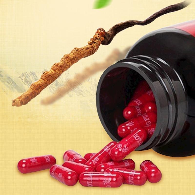 Đông trùng hạ thảo loại viên nang rất tốt cho sức khỏe