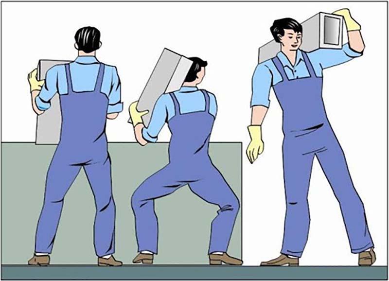 Những người làm việc, vận động sai tư thế rất dễ mắc bệnh