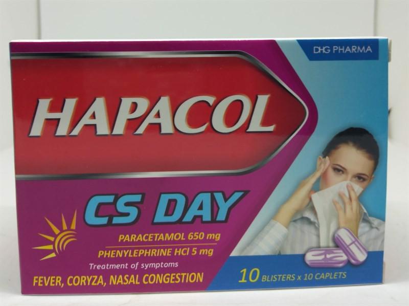 Hapacol CS Day là sản phẩm thuốc thuộc Công ty DHG Pharma
