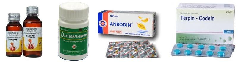 Một số loại thuốc tây điều trị bệnh ho khan